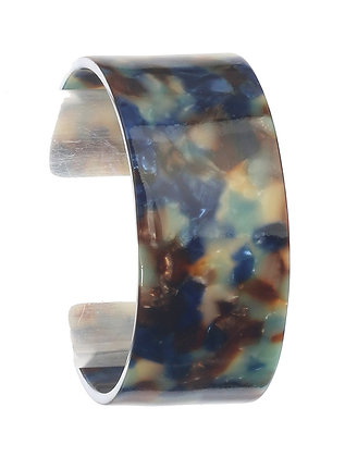 Beautiful Marble Look Cuff Bracelet