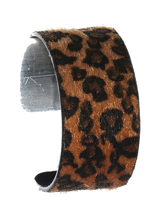 Animal Print Bangle Bracelet