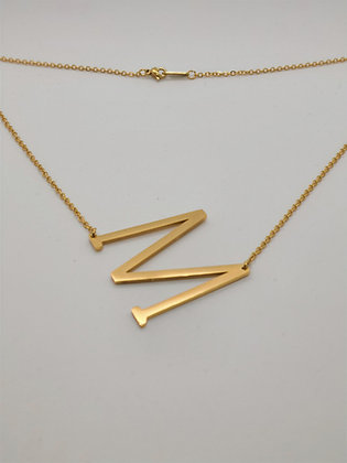 Intial Necklace-Oversized