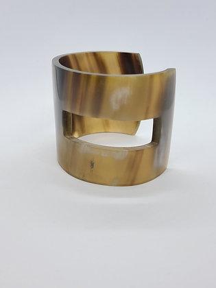 She Horn Cuff Bracelet
