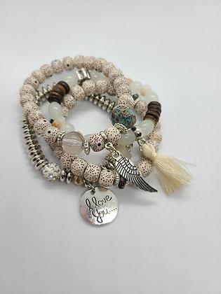 Bohemian Style Stretch Bracelet