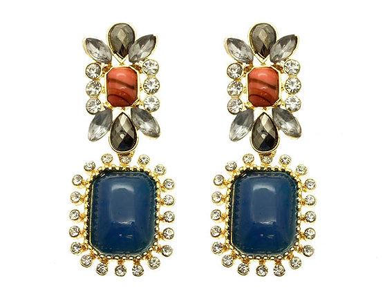 Shourouk Blue Girl Earrings