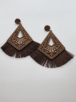 Tassel Mocha Earrings