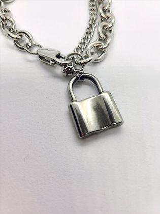 Charm Lock Bracelet