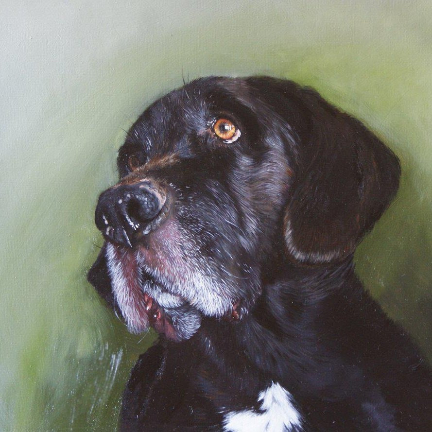 Max. Oil painting on canvas