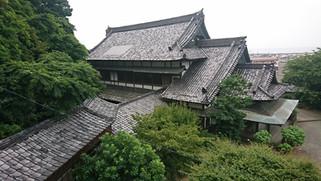神社の屋根ふき替え工事