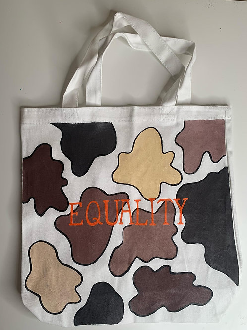 Contagious Art Tote Bags