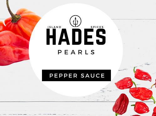 Hades Pearls Caribbean Pepper Sauce