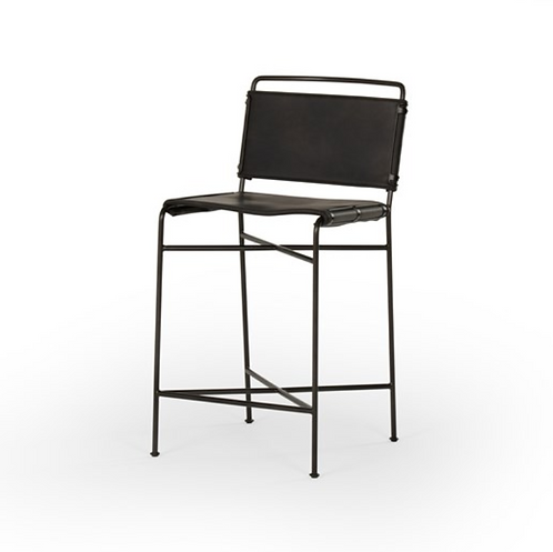 Whitney Bar or Counter  Stools - Black