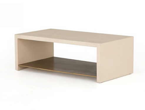Concrete Coffee Table - Off White