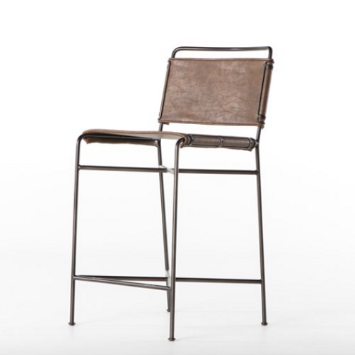 Whitney Bar or Counter  Stools - Brown