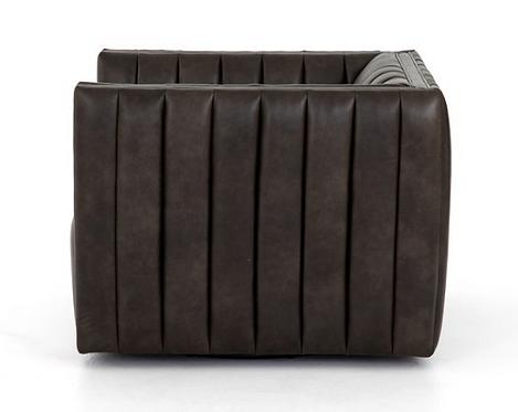 Cooper Swivel Chair - Dark Brown