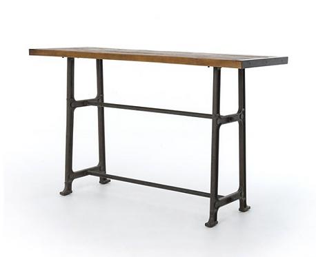 Iron & Pine Pub Table