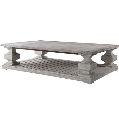 Tyrell Coffee Table - White Wash