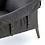 Thumbnail: Williamsburg Leather Chair - Black