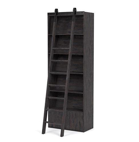Monroe Bookcase  - Dark Charcoal