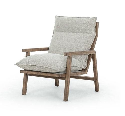 Zermatt Accent Chair - Grey Fabric