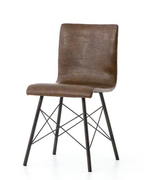 Jackson Dining Chair - Vintage Brown