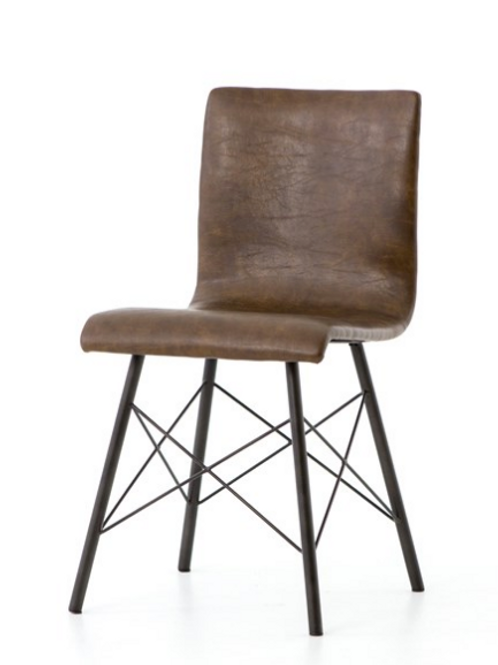 Jackson Dining Chair - Vintage Brown