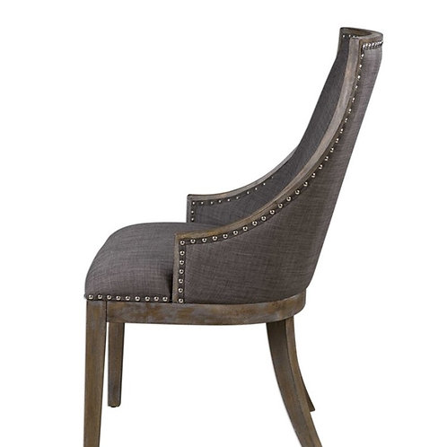 Borolo Dining/Side Chair - Charcoal Grey