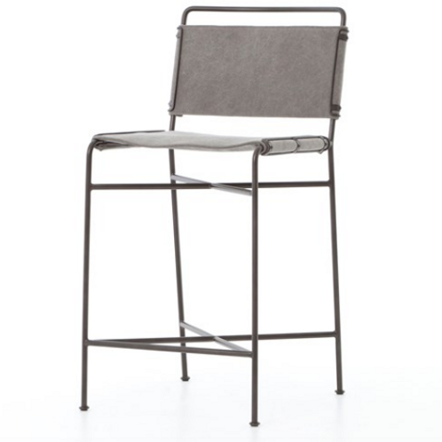 Whitney Bar or Counter  Stools - Gray