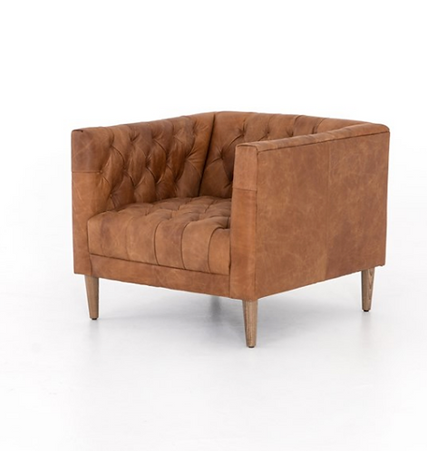Charles Lane Leather Chair
