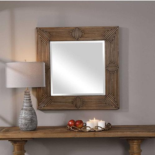 "Turing Square Mirror - 36"""