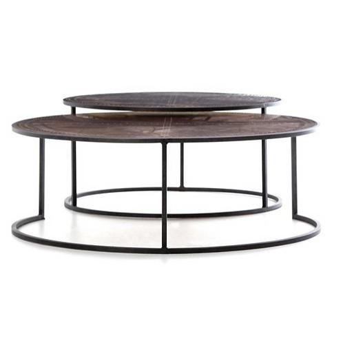 Borough Nesting Coffee Tables - Copper
