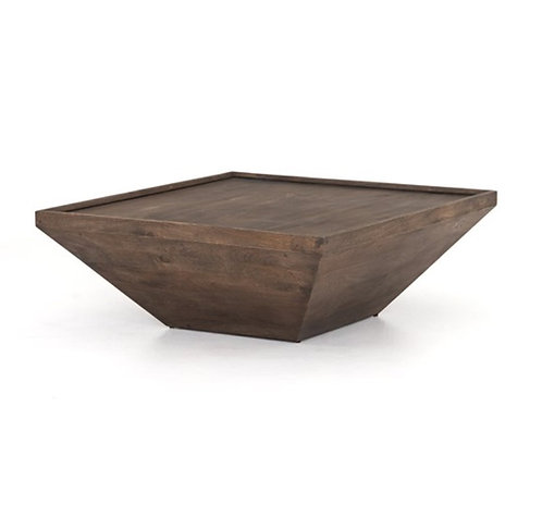 Dillon Coffee Table - Aged Brown