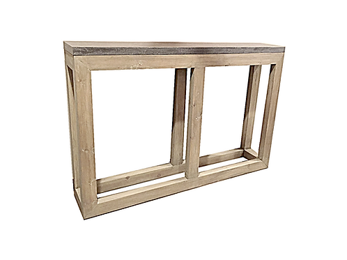 Sticks & Stones Console Table