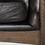 Thumbnail: Draper Accent Chair - Black Leather