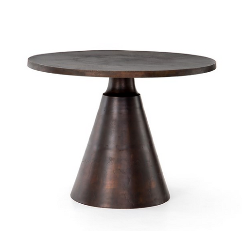Malmo Round Table - Antique Rust