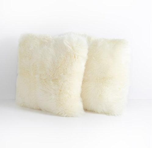 Lambskin Pillow - Cream (Set of 2)