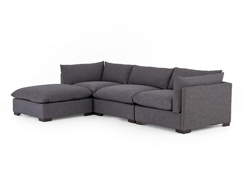 Parker Sectional - Charcoal