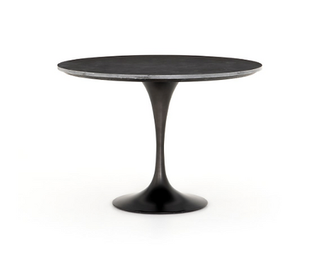 """Eden Blue Stone Top Dining Table - 42"""" or 55"""""""