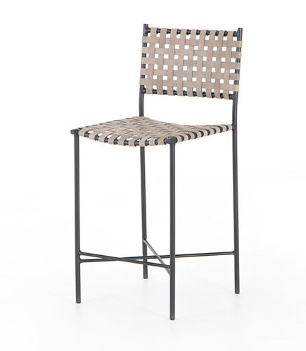 Sadie Bar or Counter  Stools - Light Leather