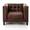 Thumbnail: Upmann Club Chair - Vintage Brown