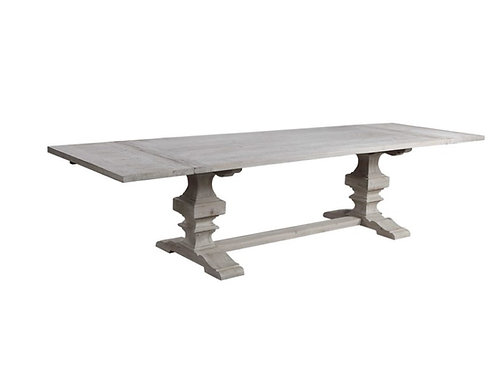 Tyrell Extension Dining Table - White Wash