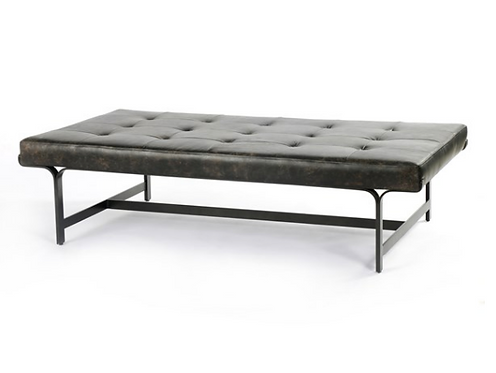 Buschwick Leather Coffee Table