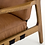 Thumbnail: Klosters Chair - Saddle Brown
