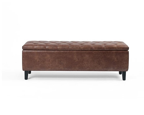 Tufted Trunk - Cigar Brown