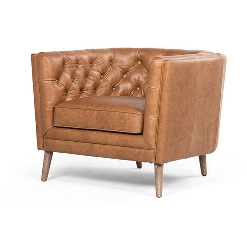 Ivan Accent Chair - Brown