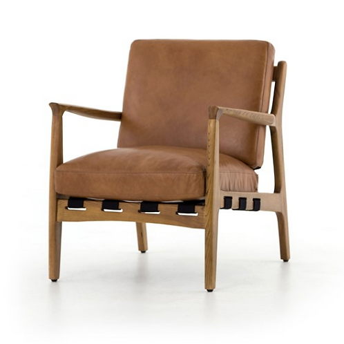 Klosters Chair - Saddle Brown