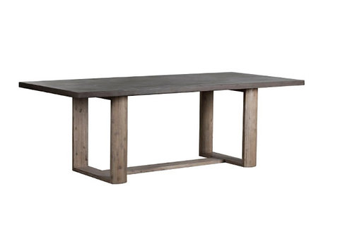 """91"""" Whitney Concrete Top Dining Table"""
