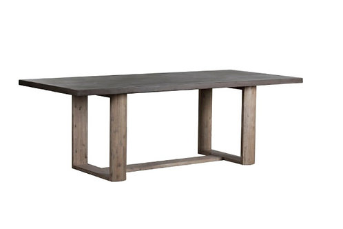 "91"" Whitney Concrete Top Dining Table"
