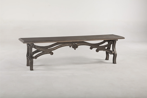 Crescent Dining Bench