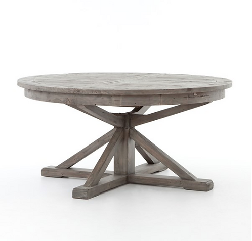 """Lucca Round Extension Table - 63"""" & 48"""""""