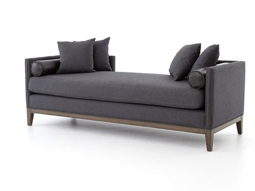 Cleo Chaise - Charcoal