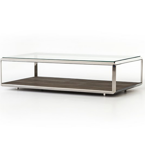 Columbus Coffee Table - Stainless