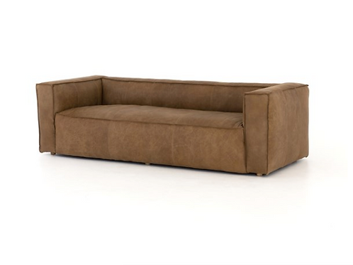Prospect Leather Sofa - Brown